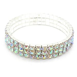 Other - Girls Toddle Silver Tone Stretch Bracelet 6-12 yrs